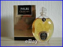 Vintage New Very Rare Guerlain Parure 50ml Eau De Toilette Edt Bottle Mib Parfum