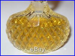 Vintage Nina Ricci Capricci Lalique Glass Perfume Bottle 1/2 OZ Sealed 2 3/4