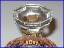 Vintage Nina Ricci Capricci Lalique Glass Perfume Bottle/Box 1 1/2 OZ Sealed