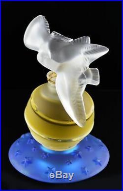 Vintage Nina Ricci L'Air du Temps 50th Anniversary Lalique Perfume Bottle Sealed