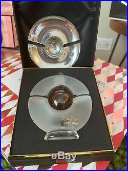 Vintage Paloma Picasso Mon Parfum. 15 mL white glass bottle. Full perfume