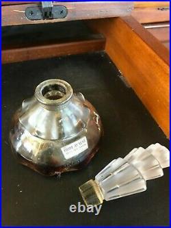 Vintage Perfme Bottle Bride Au-vent Legrain Paris Lalique Like