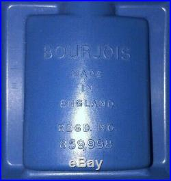 Vintage Perfume Evening in Paris Eiffel Tower Bourjois Mini Glass Bottle RARE
