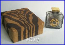 Vintage Rare Guerlain Vol De Nuit 1 Oz Perfume Bottle With Original Box