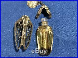 Vintage Rare Unique Toute A Provence Molinard Jeune Grasse France Perfume Bottle