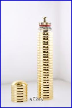 Vintage Retro Tiffany & Co Perfume Bottle Yellow Gold withCOA $6K VALUE