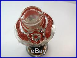 Vintage Scarlet de Suzy Perfume Bottle Figural Mannequin Head