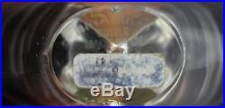 Vintage Signed Lalique Crystal Nina Ricci Farouche Glass Perfume Bottle