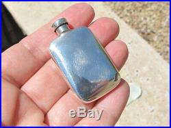 Vintage Tiffany Sterling Silver Perfume Flask Bottle with Dauber & Pouch