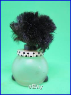 Vintage Vigny France Perfume Bottle Black Americana