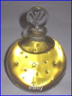 Vintage Worth Star Perfume Bottle JE Reviens Star Bottle 5 1/2 OZ Sealed/Full