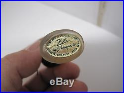 Vintage Zut de Schiaparelli Miniature Perfume Bottle with Two Labels