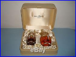 Vtg Parfum Celui de Jean Desses Perfume de Toilette BACCARAT BOTTLES BOX FRANCE
