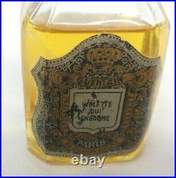 Womens Vintage Guerlain Violette Qui Embaume RARE Bottle 2 oz