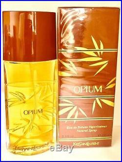 Yves Saint Laurent Opium Perfume Vintage Bottle For Sale 3.3oz EDT Spray